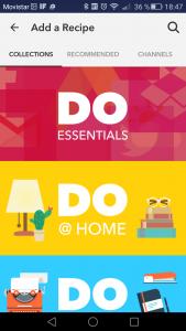 DO app options