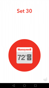 DO app honeywell set 30